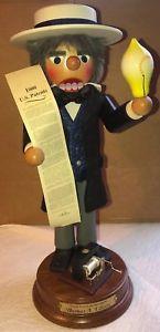 Thomas Edison Nutcracker CU000129