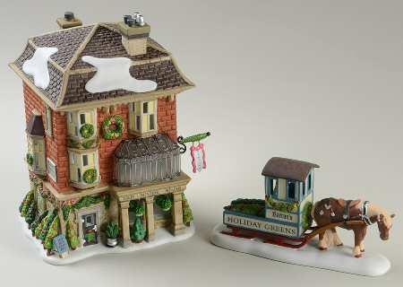 Barton's Holiday Greens Figurine 799991