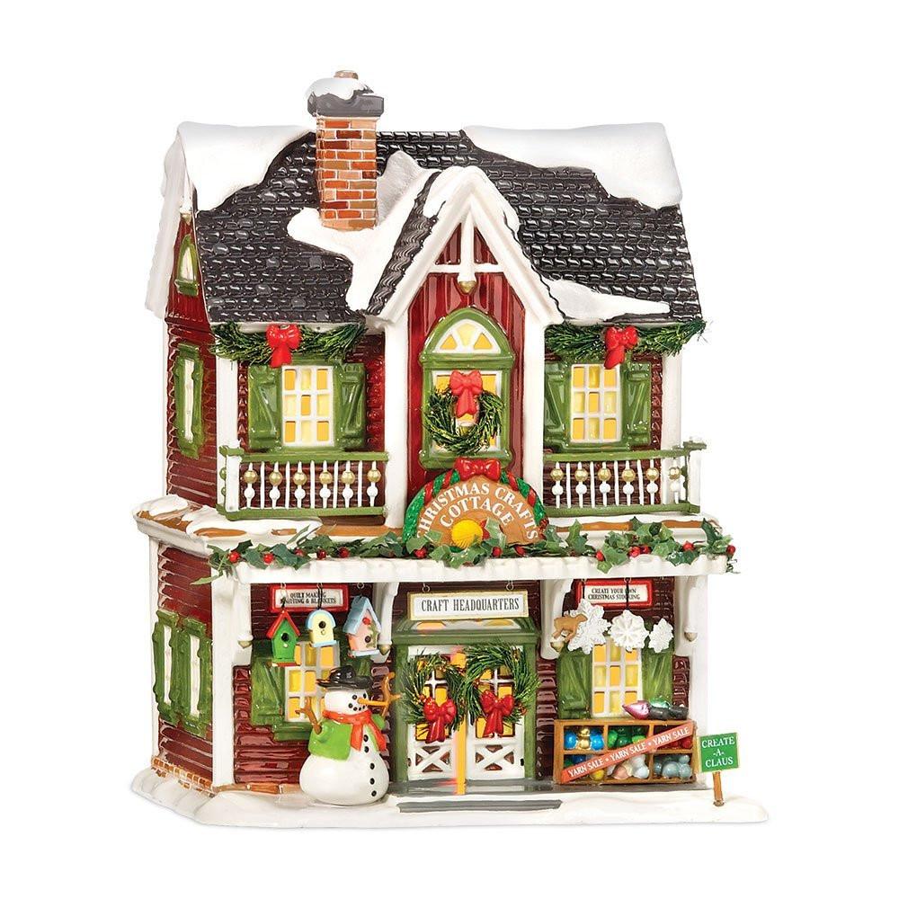 Christmas Crafts Cottage Figurine 56.55616