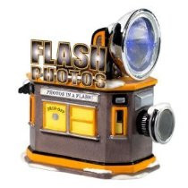Flash Photo Hut Figurine 56.55403