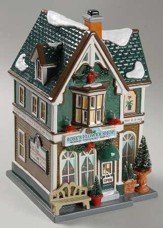 Rose's Flower Shop Figurine 805507