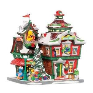 Sesame Street Bldg Figurine 56.56799