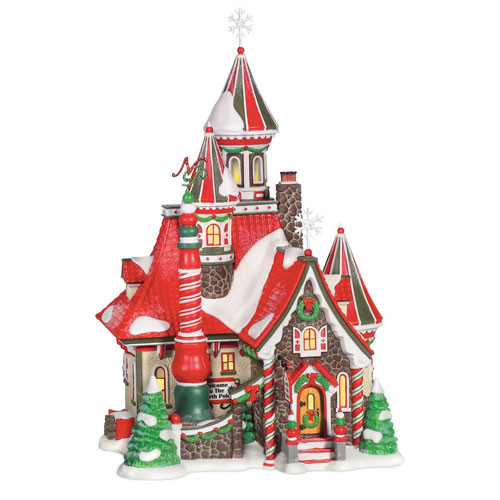 The North Pole Palace Figurine 805541