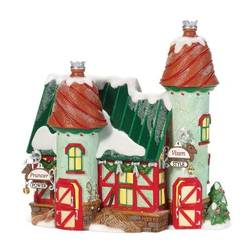 The Reindeer Stables, Prancer & Vixen Figurine 805542