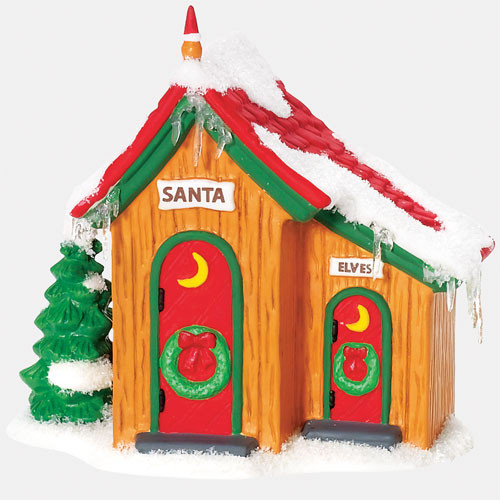 Up North Outhouse Figurine 800009