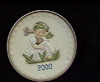 Garden Splendor Plate HUM921