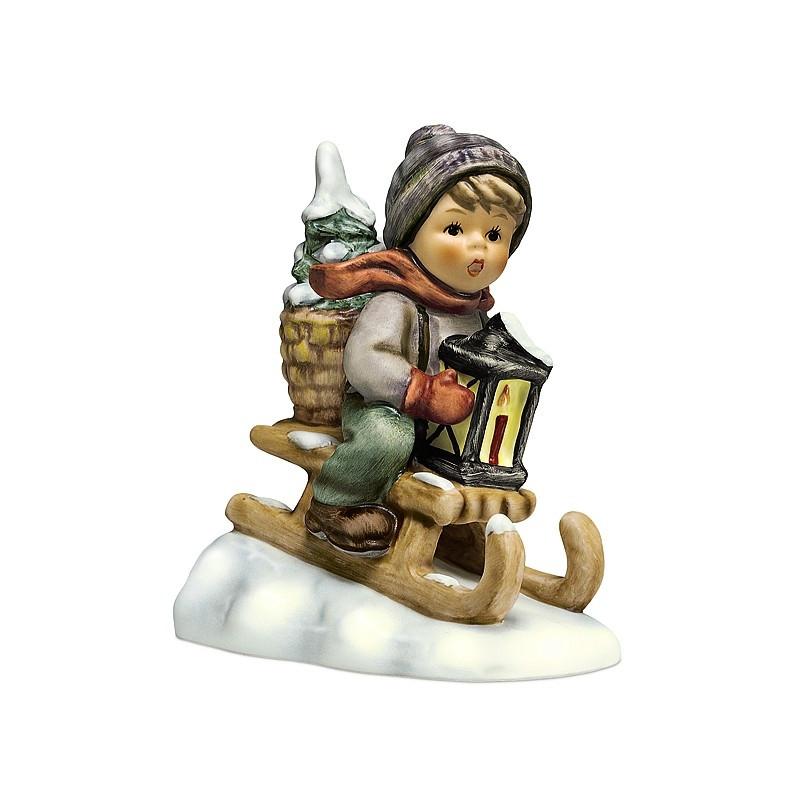 Ride Into Christmas Figurine HUM39620