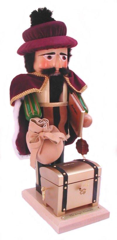 King's Treasurer Nutcracker ES1833