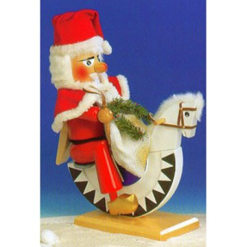 Santa Riding Horse Nutcracker ES1677