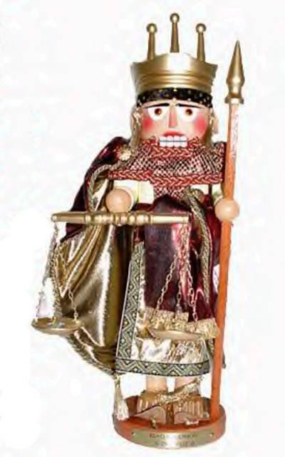 Wise King Solomon Nutcracker ES1811