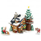 Santa's Get-Away Figurine 4023615