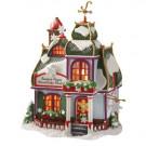 Santa's Paper Snowflake Studio Figurine 56.56956