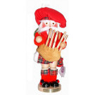 Scottish Santa Nutcracker ES1829