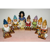 Snow White & The Seven Dwarfs Nutcracker Set. CU000510_CU000518