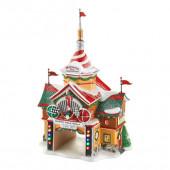 Cars North Pole Rally Center Figurine 4023616