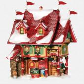 Reindeer Flying Feed Store Figurine 799919