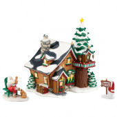 Santa's Get-Away Figurine 4023615