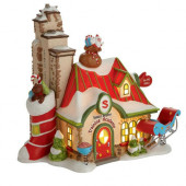 Santa's Helpers Training Academy Figurine 4020204
