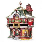 Santa's Tailor Shop Figurine 56.56793