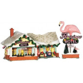 The Flamingo Motel Figurine 56.799930