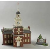 Independence Hall Figurine 56.55500