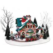 Santa's Wonderland House Figurine 56.55319