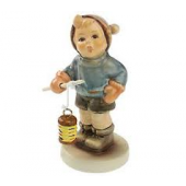 Lantern Fun Boy Figurine HUM2115B40