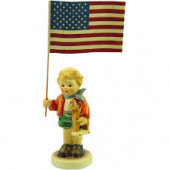 Little Flag Bearer Figurine HUM239E