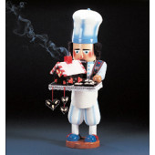 Gingerbread Baker and Smoker Nutcracker ES1691
