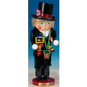 Mardi Gras King Nutcracker ES1640S